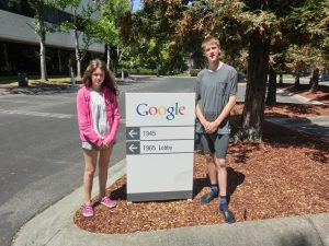 Bei Google...