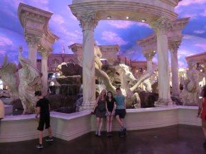 Caesars Palace mit künstlichem Himmel