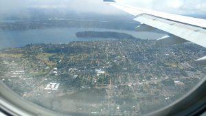 Seattle, endlich da